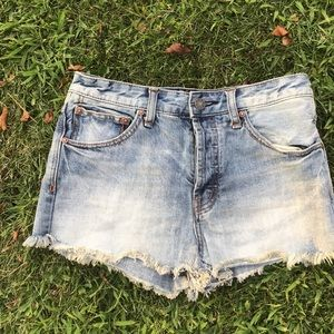 Free people shorts!